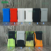 Colorful soft and reusable silicone battery cases, wholesale OEM acceptable 18650/20700 battery cover holder