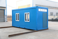 standard built modern Trade Assurance 20ft container house shanghai