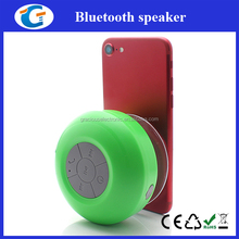mini size waterproof wireless bluetooth speaker with suction cup