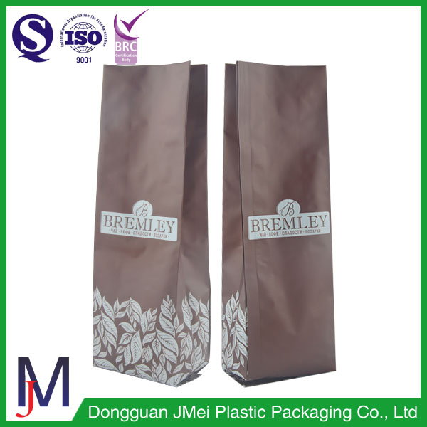 Custom Printed Aluminum Foil vacuum pouch / Side gusset bag Tea Bags