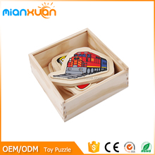 2016 wooden puzzle block toy for educational,DIY 3d baby brain development toys wholesales