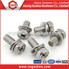 China wholesale custom phillips Hex Head Screws with Washers