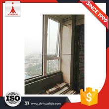 Supreme quality top level aluminum single hung window with grid