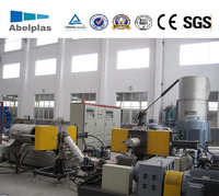 Double Stage Plastic Recycling Granulating Line