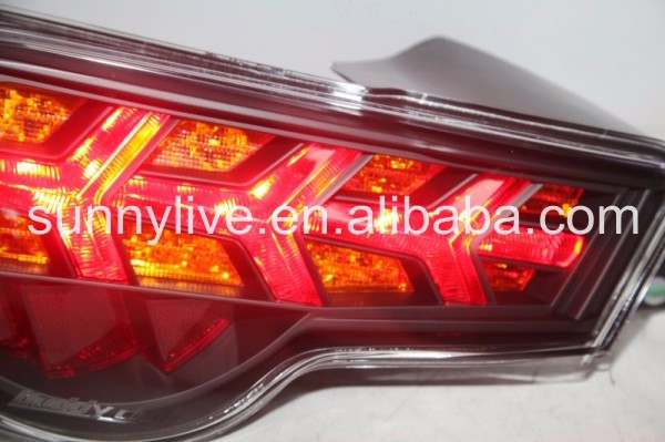 2013-2014 year GT86 FT86 LED Strip Rear Light Fishbone Style V4