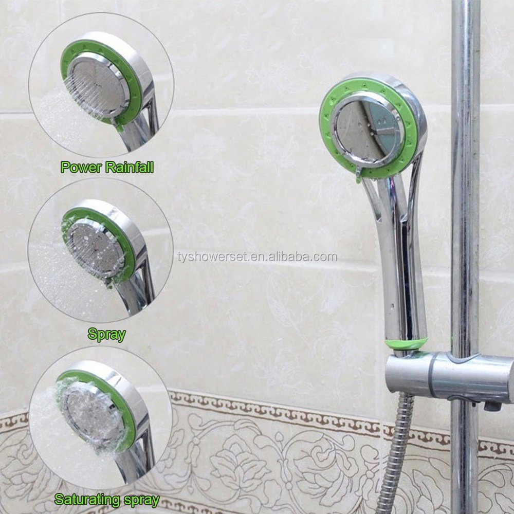 Lightweight Handheld Luxury Spa High Pressure multi function Shower Head