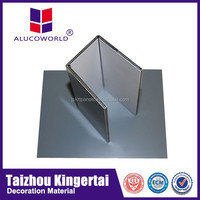 Alucoworld attractive building construction materials fire protection acp foam board for exterior aluminum composite panel