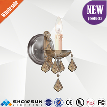 Zhongshan lighting customization locker 1 light crystal chandelier