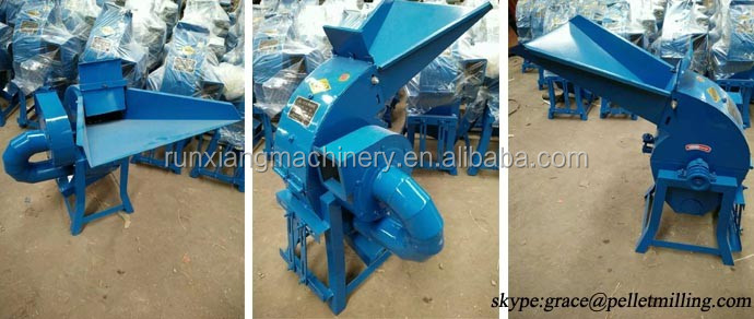 Animal poultry feed pellets hammer mill with cyclone