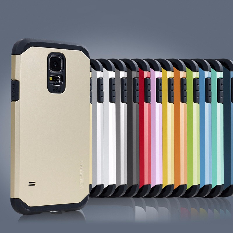 Fancy armor shockproof cell phone cover case for samsung galaxy s5