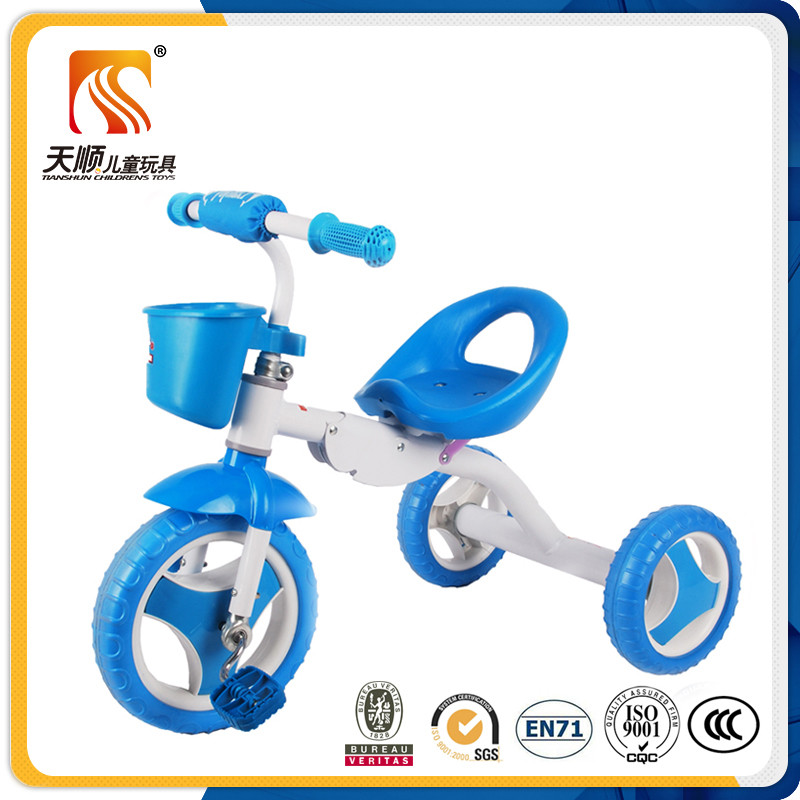 Ride on trike car and cheap 3 wheel kids folding pedal tricycle from china factory wholesale