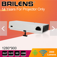 BRILENS 3800 lumens DLP Mini Projector
