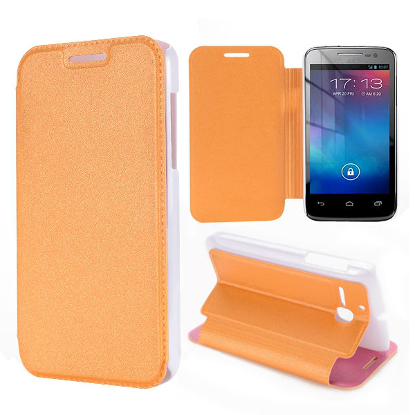 New Arrival High Quality PC and PU Leather Mobile Phone Case for Alcatel OT 5020D 5020