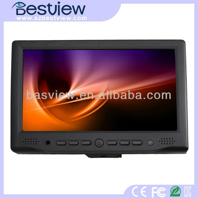 "Hot 7 inch touch screen 7"" mini lcd monitor rca/hdmi input"