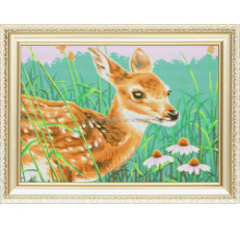2017 New Pattern Sika deer Wholesales Diy Diamond embroidery Painting Kit Canvas for Wall Art a259