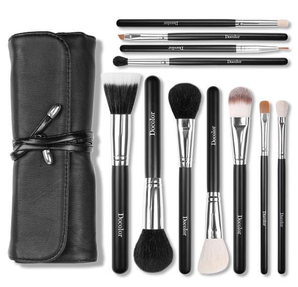 11pcs best quality Japan makeup brush set private label factory private label brush set