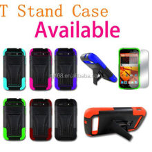 T stand robot hybrid combo kickstand cover case for Apple ipod I touch 5
