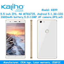 5.5 inch 4g smartphone mtk6735 quad core android mobile phone