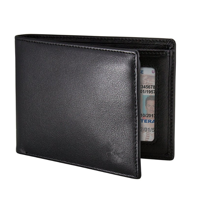 Famous brands wallets Leather RFID Blocking Wallet men's wallet