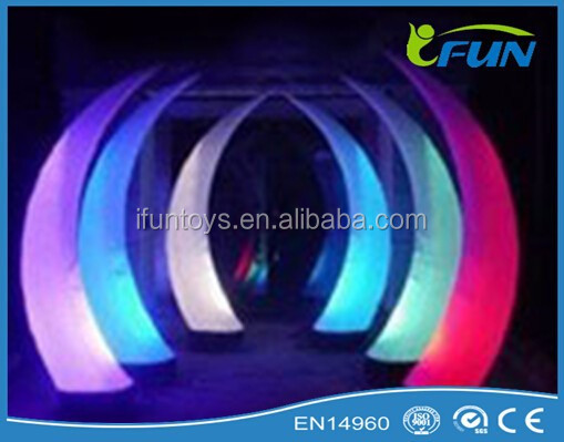 elephant tusk inflatable outdoor / inflatabe tusk lighting decorations / elephant tusk inflatable lightings