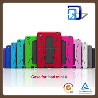 Best Quality Shockproof Heavy Duty Armor Robot Case For iPad mini 4 tablet case factory price