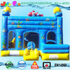 4 in 1 inflatable bouncer seaworld theme, nemo clown fish commercial inflatable bounce house combo