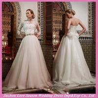 WD9259 New design detachable lace sleeves for wedding dress with great price