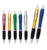 New product torch light ball pen with printing logo pen for festival gifts