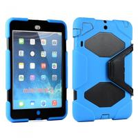 iPad Mini 2 Mini Armor Defender Blue Black Case