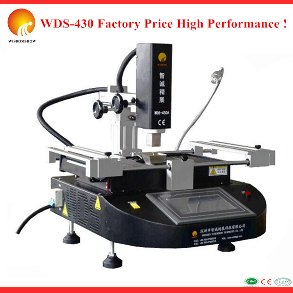 Favorable price High precision bga infrared welding machine WDS-430 repairing ASUS/HP/LENOVO/DELL