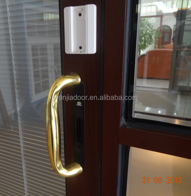 Economic exterior lowes glass aluminum sliding door price for Aluminum sliding glass doors price