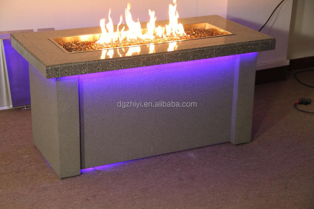 hei er verkauf modernen outdoor gas feuerstelle. Black Bedroom Furniture Sets. Home Design Ideas