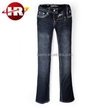 Custom Women's Jeans with your Design and Logo embroidery artwork