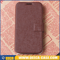 Factory manufacture flip leather case for lg magna, flip cover for lg magna premium