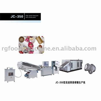 JC-350 high speed filled jam hard candy production line,hard candy machine