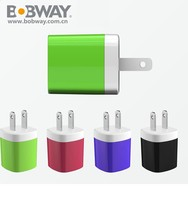 1A single usb fast charging AC wall usb charger power adaptor