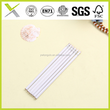 white Hb pencil custom pencils with printed logo with cute eraser