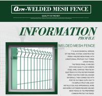 welded mesh /Cheap price/polyester powder coated/hot sales