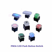 PB06-A-WT-RGB-N-Y 12mm LED RGB Pushbutton <strong>Switches</strong> with Tactile