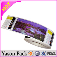 Yason self adhesive labels stickers cosmetic label/sticker cartoon picture label/sticker