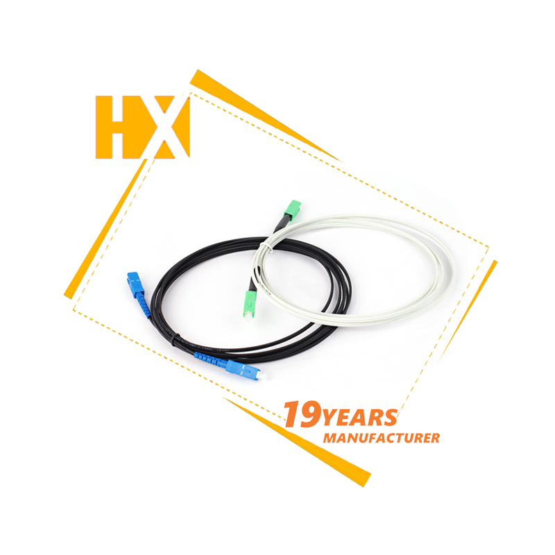 SC/UPC SC/APC Jumper FTTH outdoor Drop Cable G657A Fiber Optical Cable patch cord