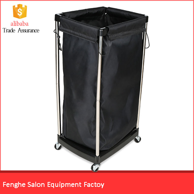 High quality beauty salon equipment towel bucket trolley