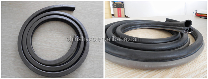 waterproof car door rubber seals with TS16949