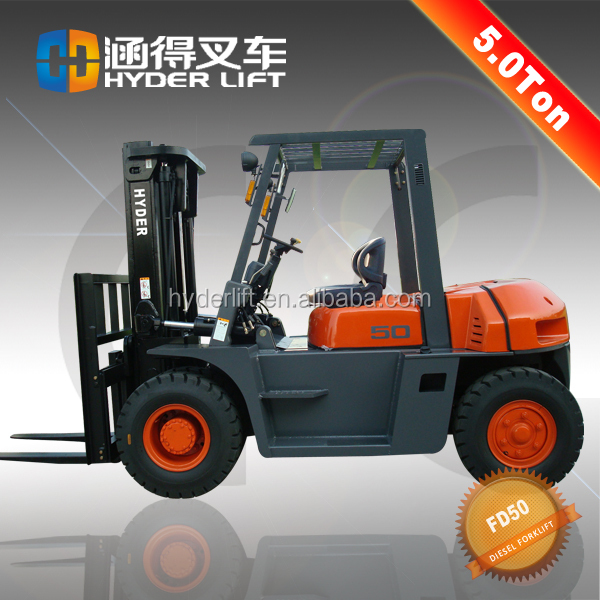 5t diesel engine forklift truck china supplier motor gasoline testing machine