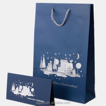 Factory Black Shopping Paper Bag For Wholesales Christmas Gift Bags Wholesale View Black Paper Bag Judi Product Details From Dongguan Judi Industry