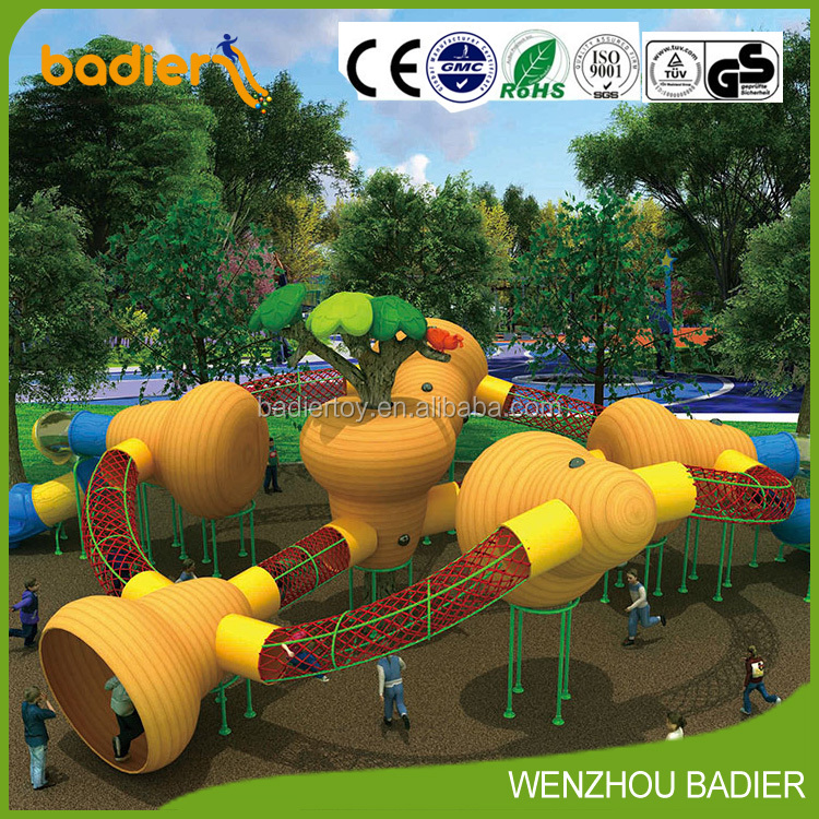 play outdoor playground facility kids plastic tunnel residential plastic outdoor playground equipment