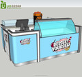 2*2 meters small juice bar counter designs,juice bar furniture for sale
