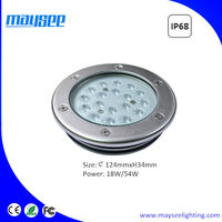 Waterproof submersible LED pond light
