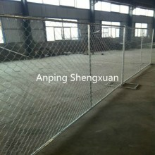 chain link mesh temporary construction fence panels
