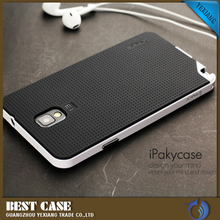 China Supplier Wholesale TPU + PC Armor Back Cover For Samsung Galaxy Note 3 Ipaky Case